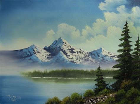acrylic painting landscapes beginners easy landscape paintings for beginners step by step