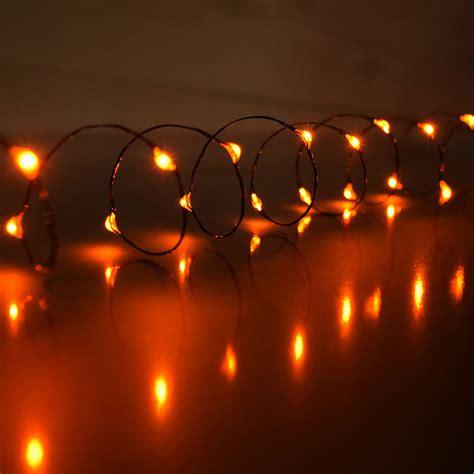 orange solar string lights 28 best orange mini lights orange led battery operated