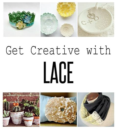 craft lace projects 13 ways to use lace