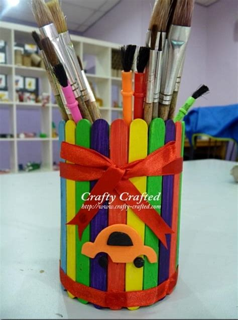 popsicle stick kid crafts 30 amazing popsicle stick crafts and projects