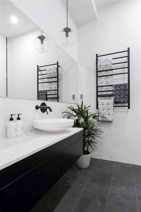 the 25 best black white bathrooms ideas on