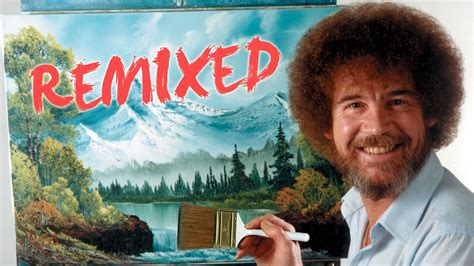 bob ross the happy painter bob ross remixed happy clouds pbs digital
