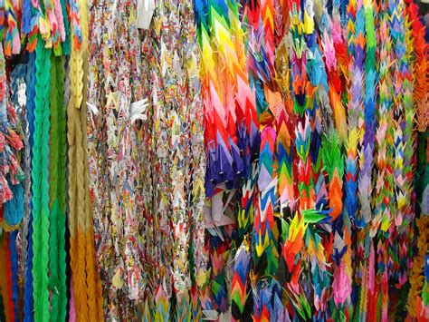 1000 Origami Cranes 171 Embroidery Origami