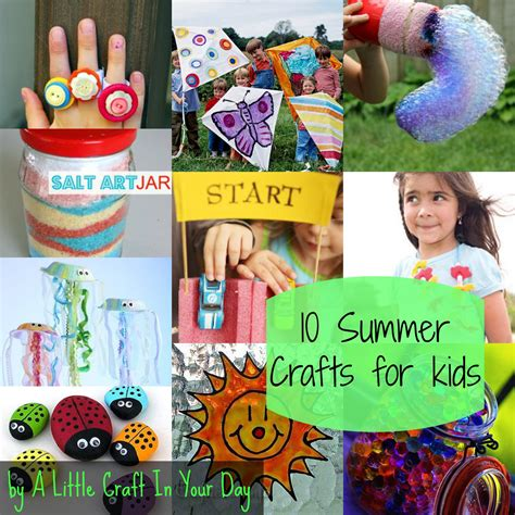 kid friendly crafts kid friendly summer crafts a craft in your day