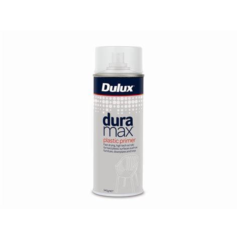 spray paint with primer dulux duramax 325g plastic primer spray paint bunnings