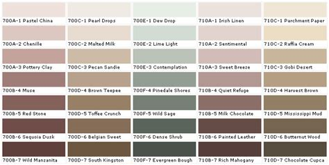 behr exterior paint color palette behr paint exterior colors behr colors behr interior