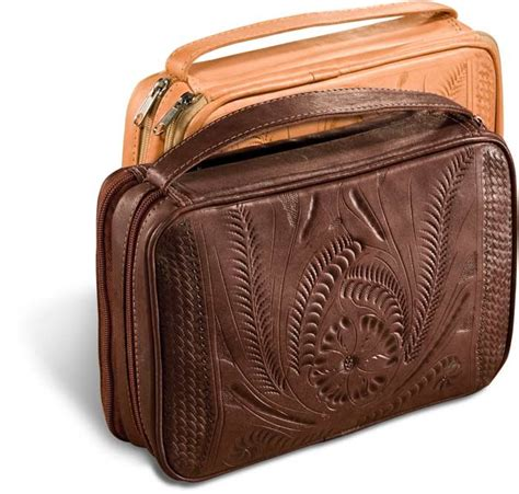 tooled leather goods tooled leather bible cover s for