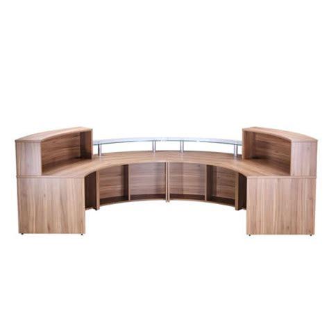 office counter desk curved semi circle oi range office counter reception desk
