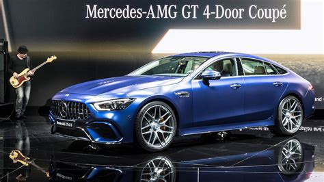 Mercedes Gt Coupe by Genf 2018 Weltpremiere Des Amg Gt 4 Door Coupe Amg G63