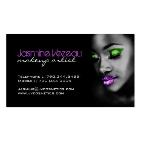 make up artist business cards makeup artist business cards zazzle