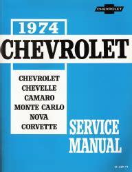 1974 chevrolet chevelle camaro monte carlo nova corvette bel air impala caprice