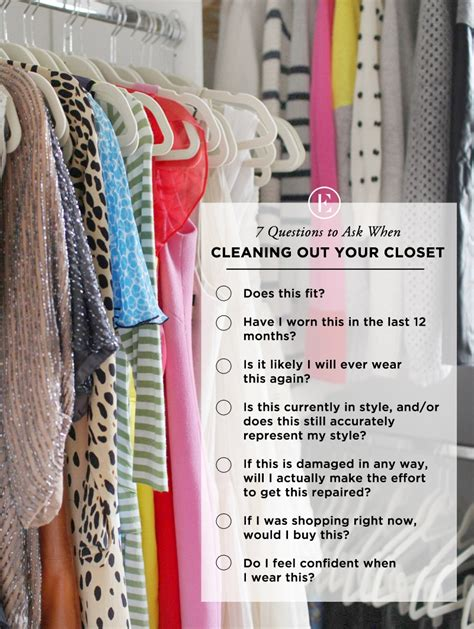cleaning out closet 7 questions to ask when cleaning out your closet the