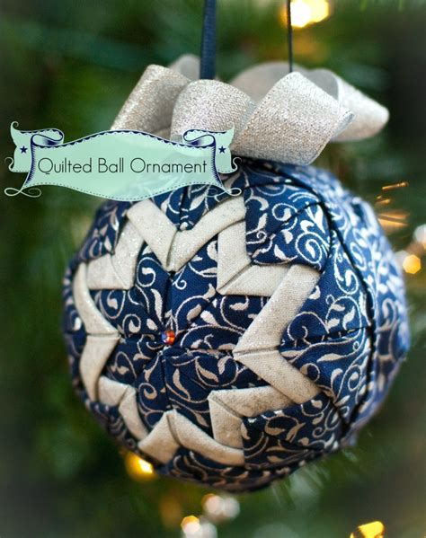 how to sew ornaments almost no sew quilted ornament sew mccool