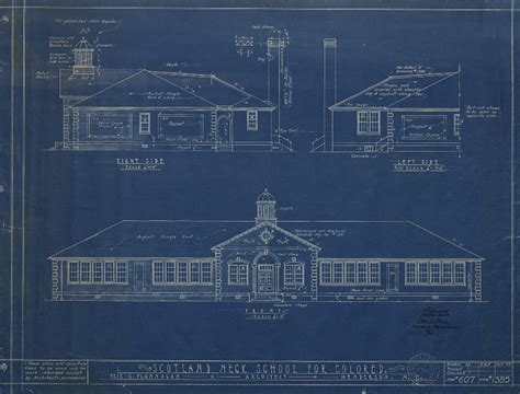 blueprint drawing school blueprint drawings