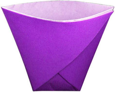 origami paper cup paper cup from a sheet of paper