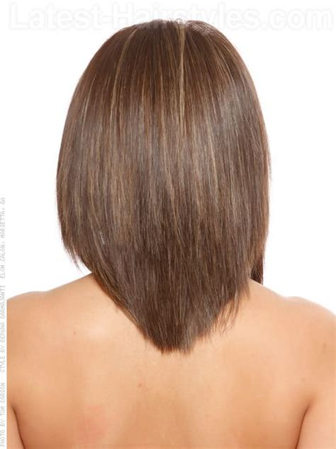 hair cut with a defined point in the back best 25 v layered haircuts ideas on pinterest