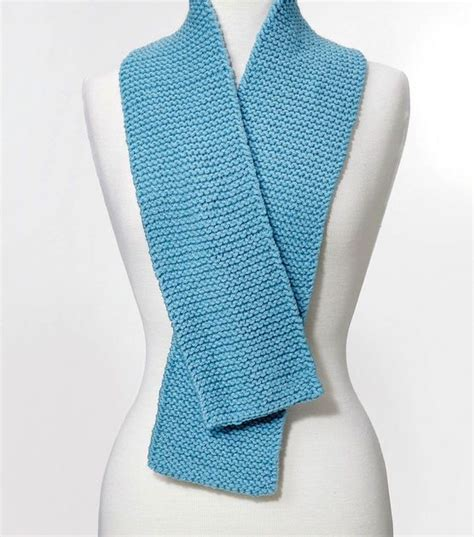easy scarves to knit simple knit scarf knitting