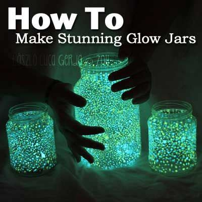how to make glow in the paint without phosphorescent powder best 20 glow jars ideas on glow jars