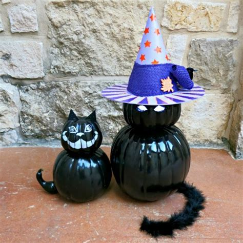 ideas black cat 22 pumpkin decorating ideas the crafty stalker