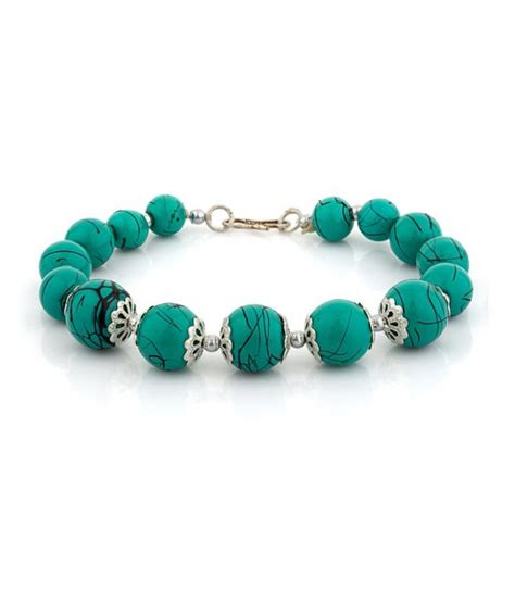 buy beaded bracelets d d cool turquoise beaded bracelet buy d d cool turquoise