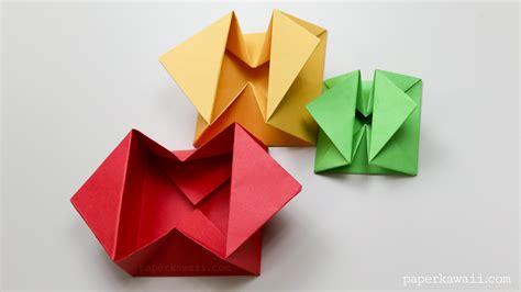 paper origami envelope origami envelope box paper kawaii