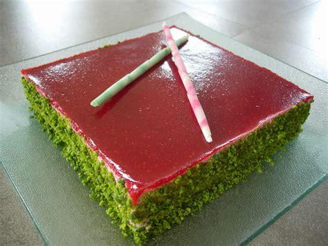 desserts de nouvel an le frambistache et la b 251 che concorde recette