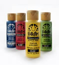 folk acrylic paint on glass plaid folkart paint supplies for decorative painters and