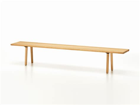 where to buy wood for woodworking buy the vitra wood bench oak at nest co uk