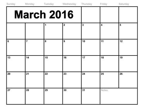 for march march month 2017 blank calendar printable calendar templates