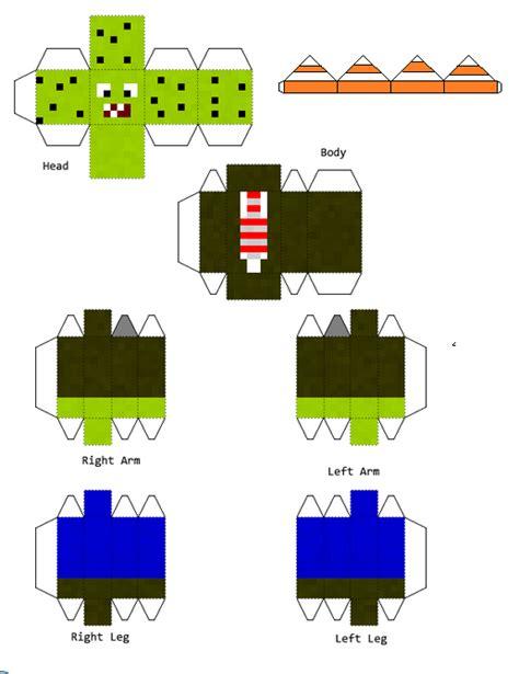 plants vs zombies paper crafts papercraft plants vs zombies