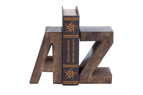 new traditional woodworker new traditional rustic wood uppercase a to z bookends by uma