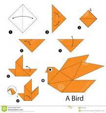 how to make a bird with origami paper oltre 1000 idee su istruzioni origami su