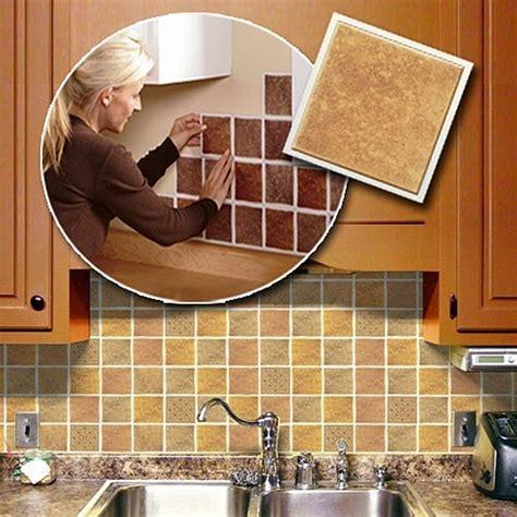 adhesive kitchen backsplash self adhesive backsplash tiles save money on kitchen renovation