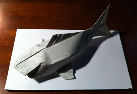 origami koi sipho mabona 236 sipho mabona s koi carp setting the crease
