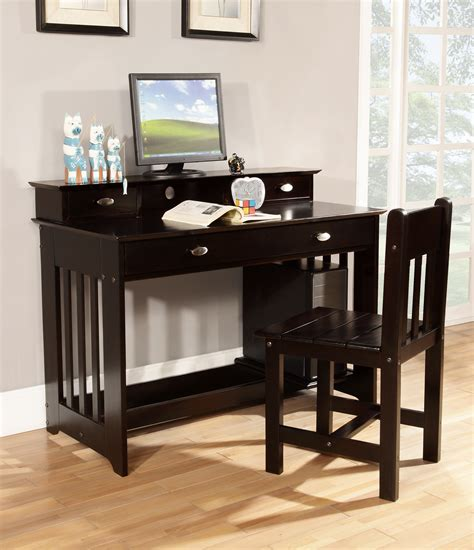 espresso desk with hutch discovery world furniture espresso desk with hutch kfs