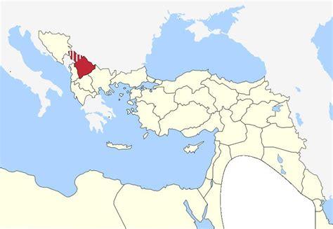 ottoman empire located kosovo vilayet