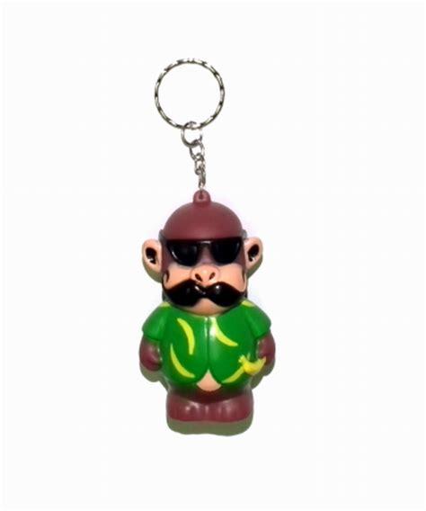 monkey rubber st cool monkey rubber keychain