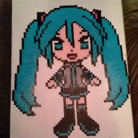 hatsune miku perler 114 best images about vocaloid black rock shooter on