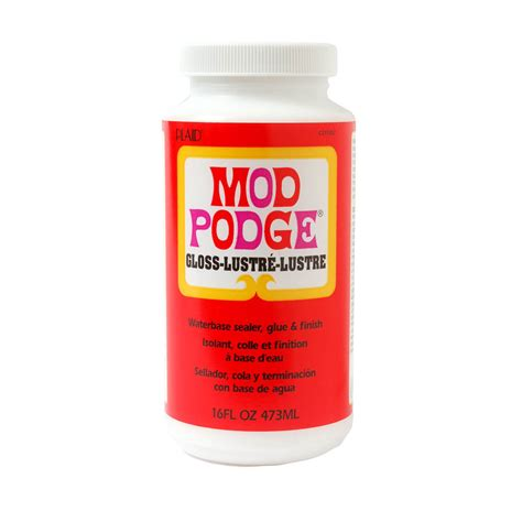 msc decoupage glue mod podge 174 gloss 16 oz cs11202 plaid