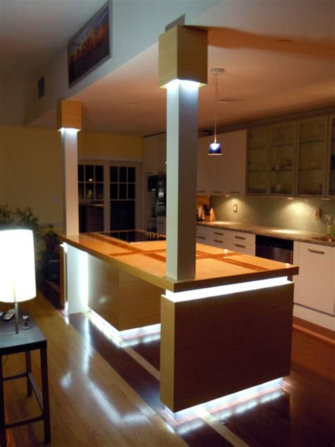 kitchen led lighting led kitchen island lighting contemporary kitchen st