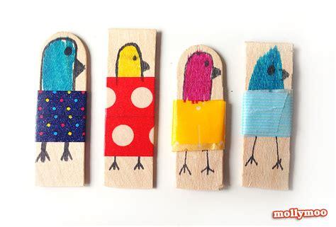 stick crafts mollymoocrafts craft craft stick dolls
