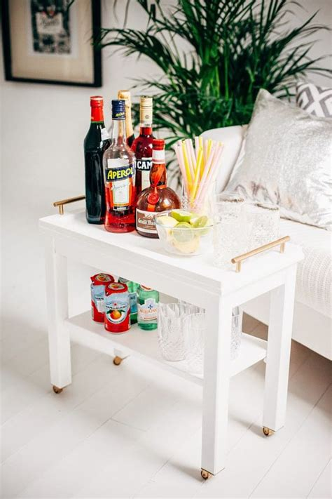 nornas hack nornas ikea hack turned into a bar cart small house