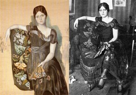 picasso paintings of olga khokhlova will save viola in everything