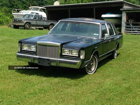 service manual how cars engines work 1987 lincoln continental mark vii head up display 1980 service manual how to repair 1987 lincoln town car emergency pedal cable service manual how