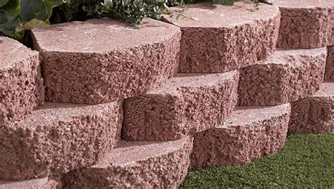 decorative concrete blocks for garden walls how to build a retaining wall