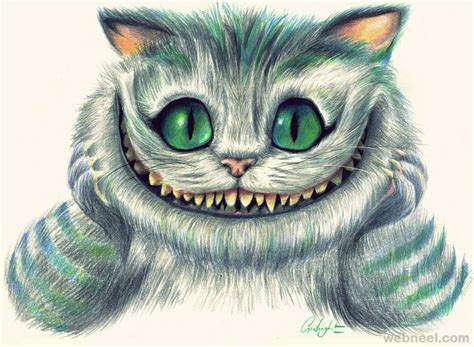 evil cat painting evil cat drawing 25 preview