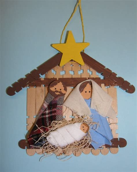 nativity craft terry ricioli designs nativity ornament