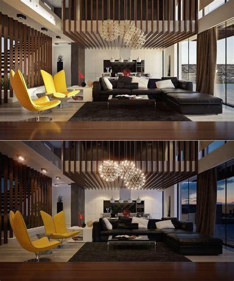 Home Office Design Trends 2014 ultra modern double height living interior design ideas