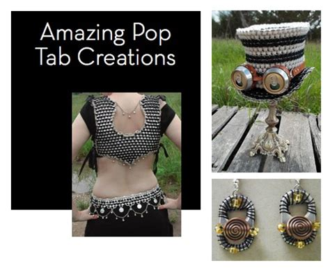 pop tab crafts projects eye soda pop tab projects curbly