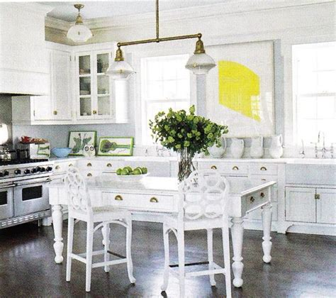 white table kitchen farmhouse table cottage kitchen b five studio